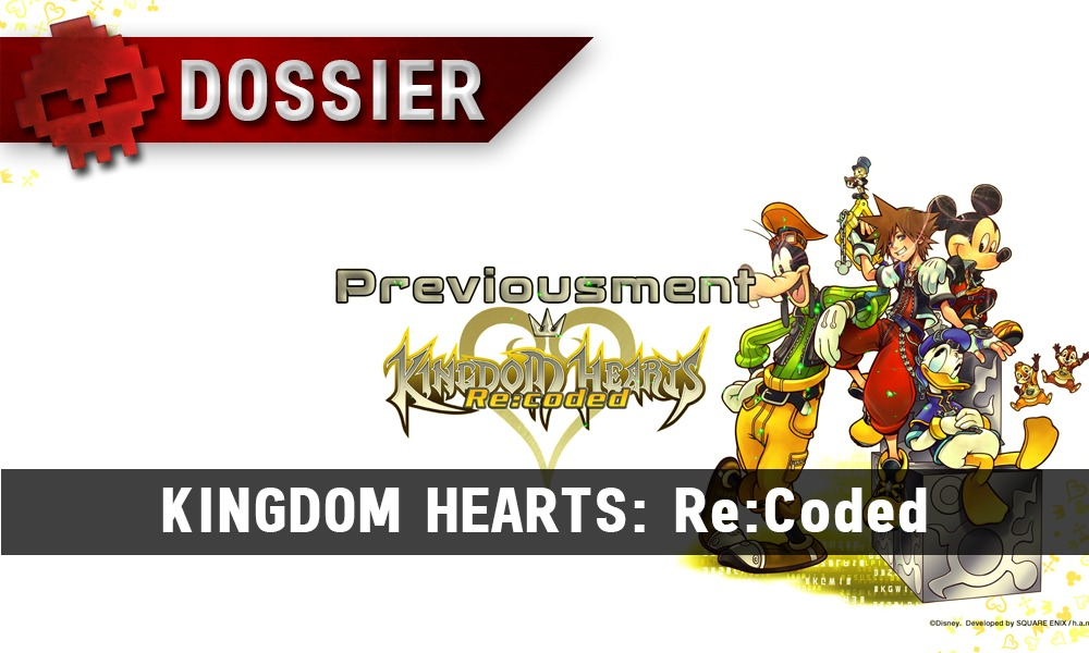Previousment Kingdom Hearts Re coded - vignette