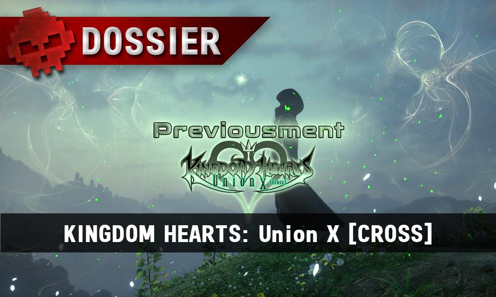 Previousment Kingdom Hearts Union X - vignette