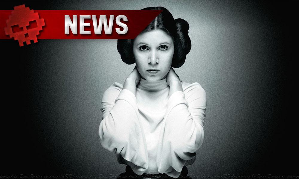 SWTOR - Des milliers de joueurs rendent hommage à Princesse Leia - Carrie Fisher