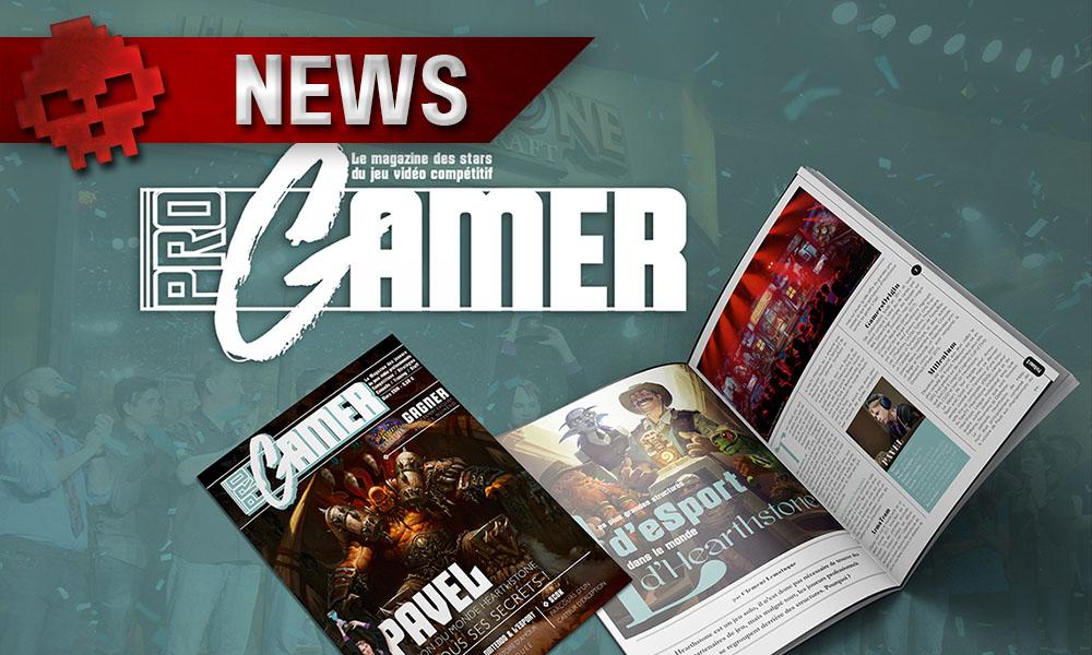 ProGamer - Le magazine gamer des joueurs pros Logo et magazine