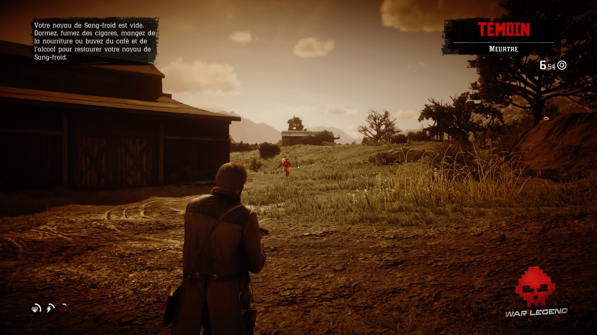Soluce Red Dead Redemption 2 le mode sang froid