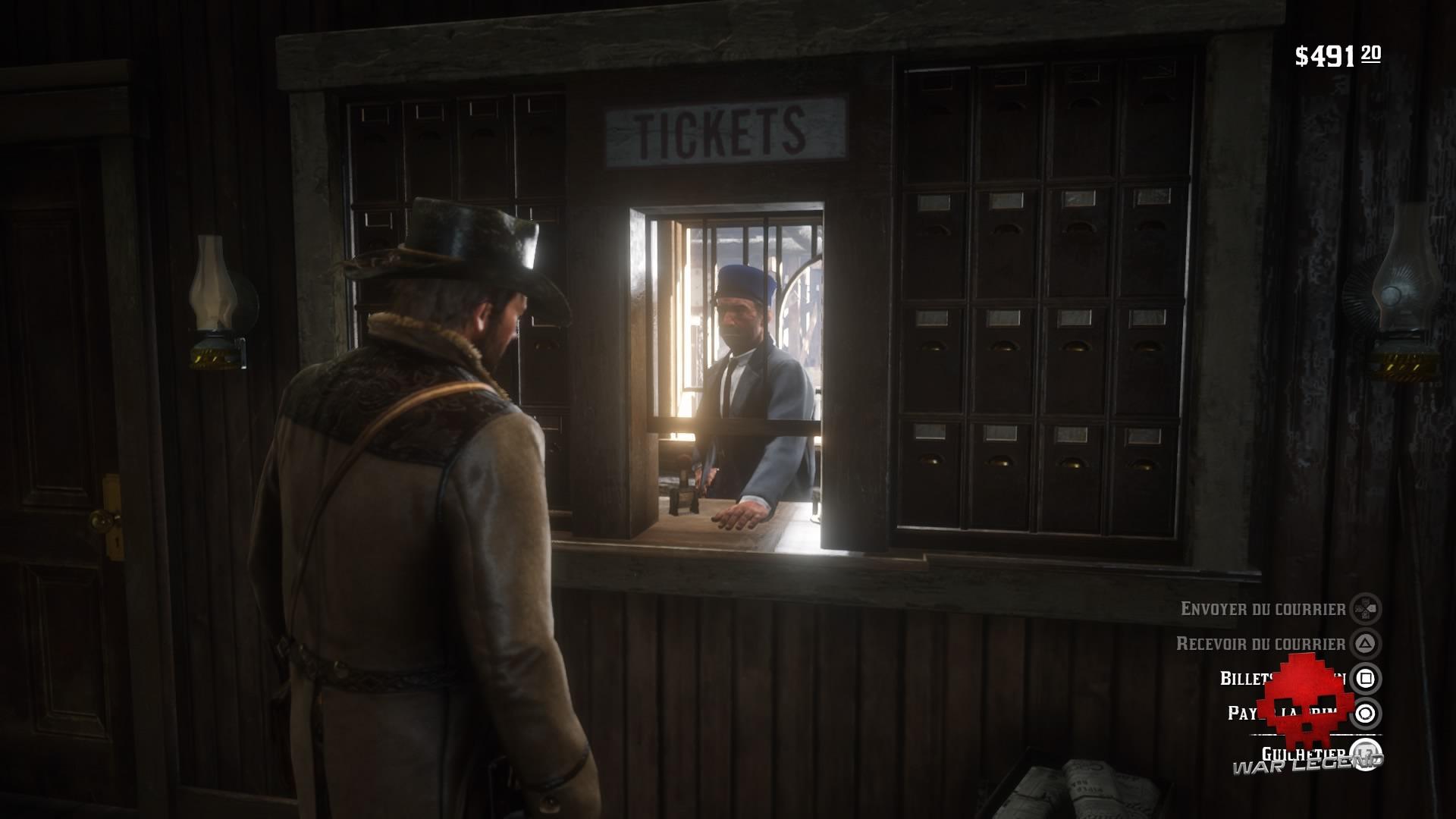 guide red dead redemption 2 les voyages - bureau de poste