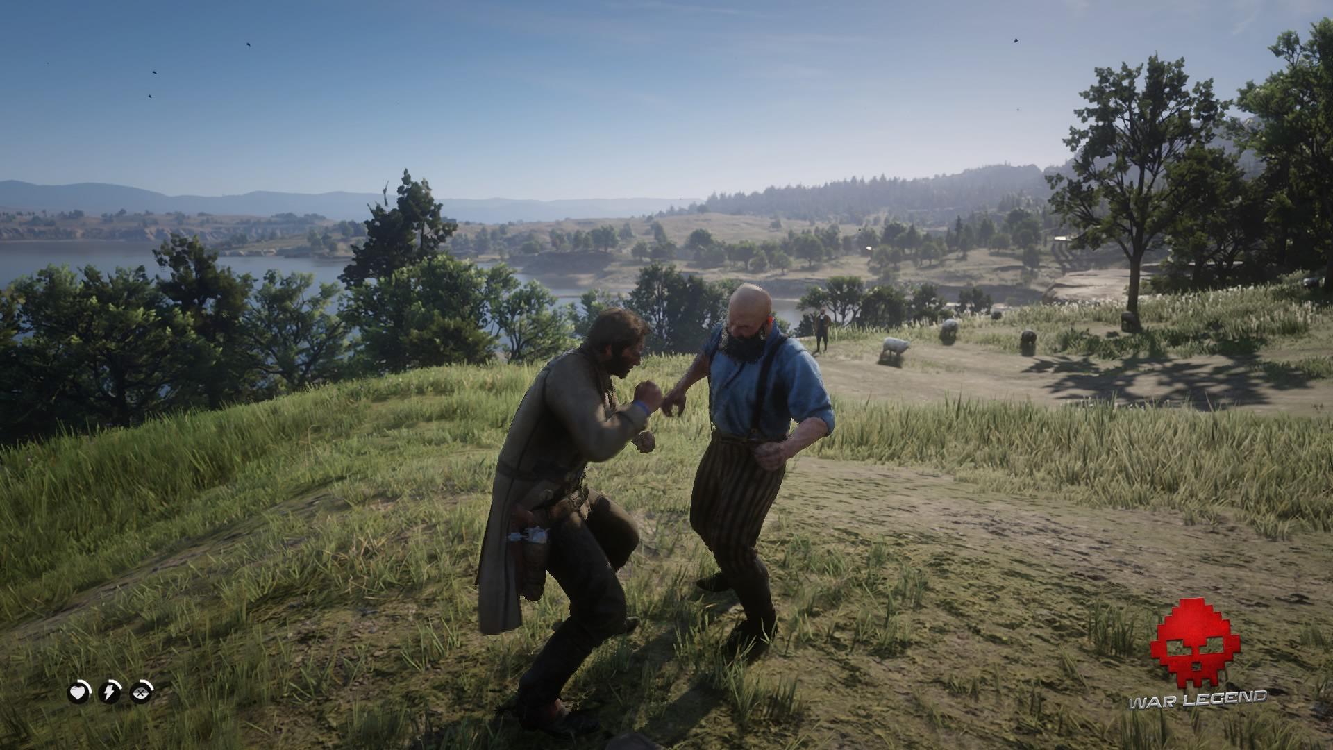 Une bagarre contre une brute