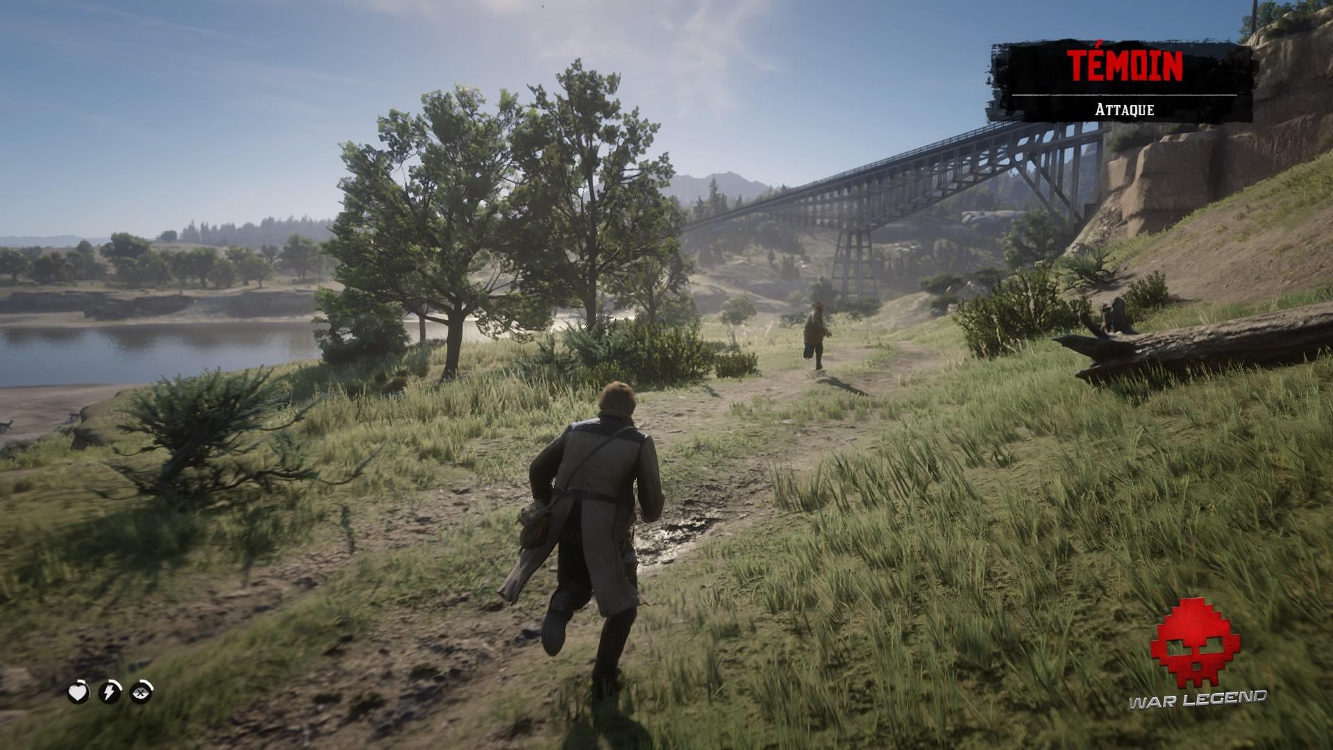 Red Dead Redemption 2 celui qui n'est pas sans péché Course poursuite