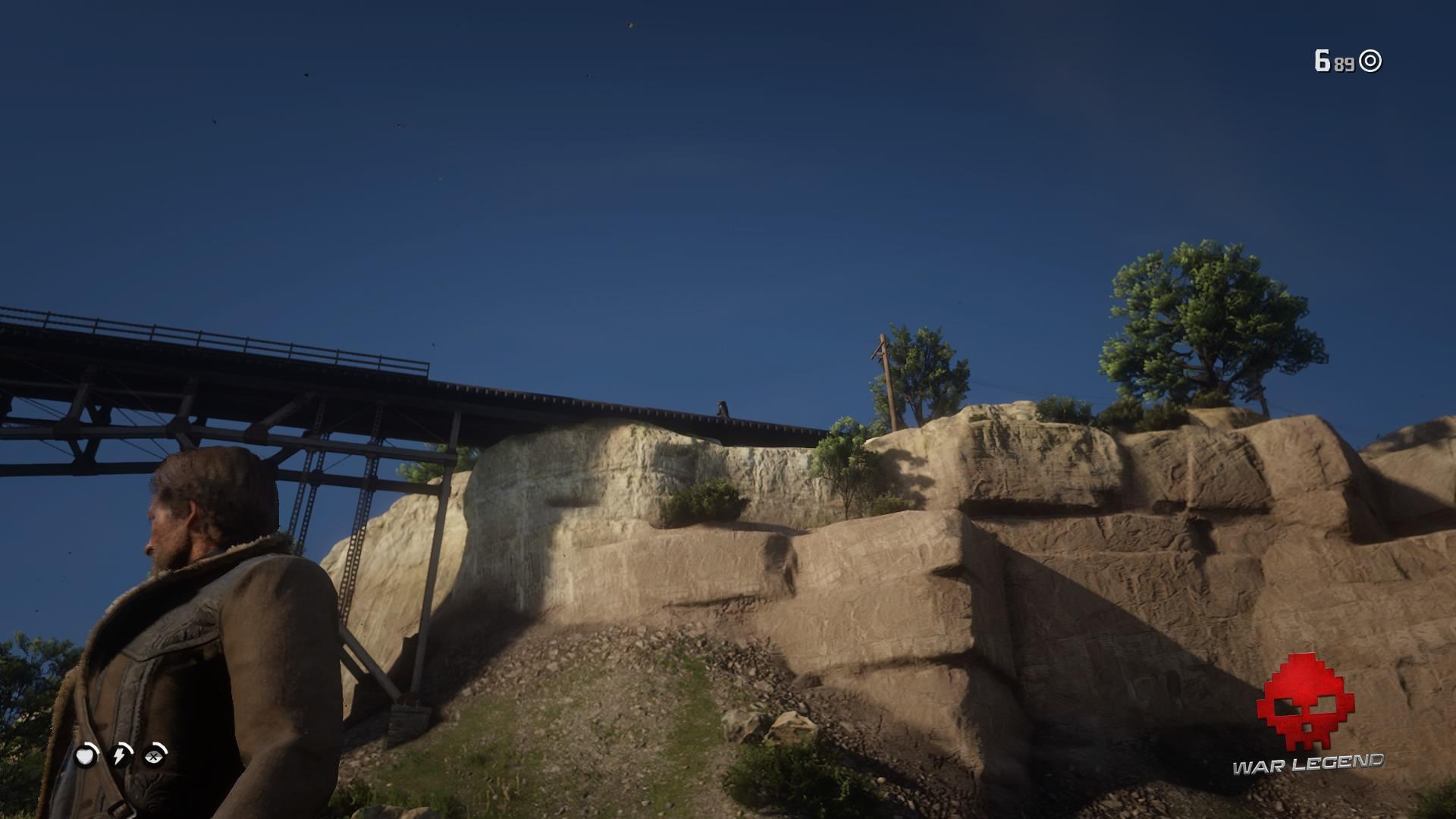 Red Dead Redemption 2 celui qui n'est pas sans péché Le révérend sur les rails
