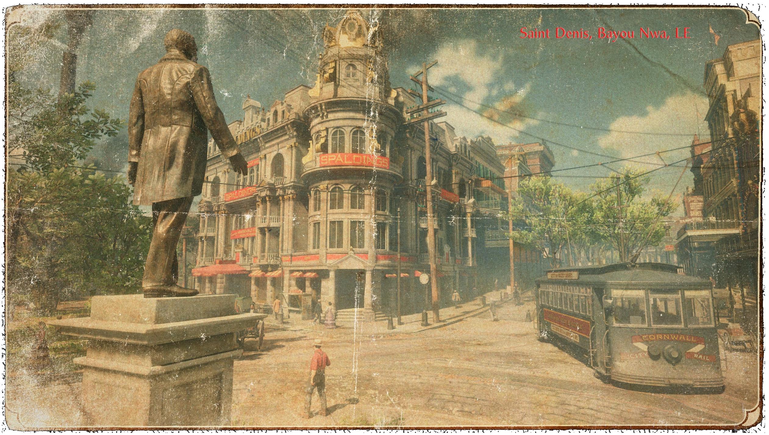 carte postale Saint-Denis