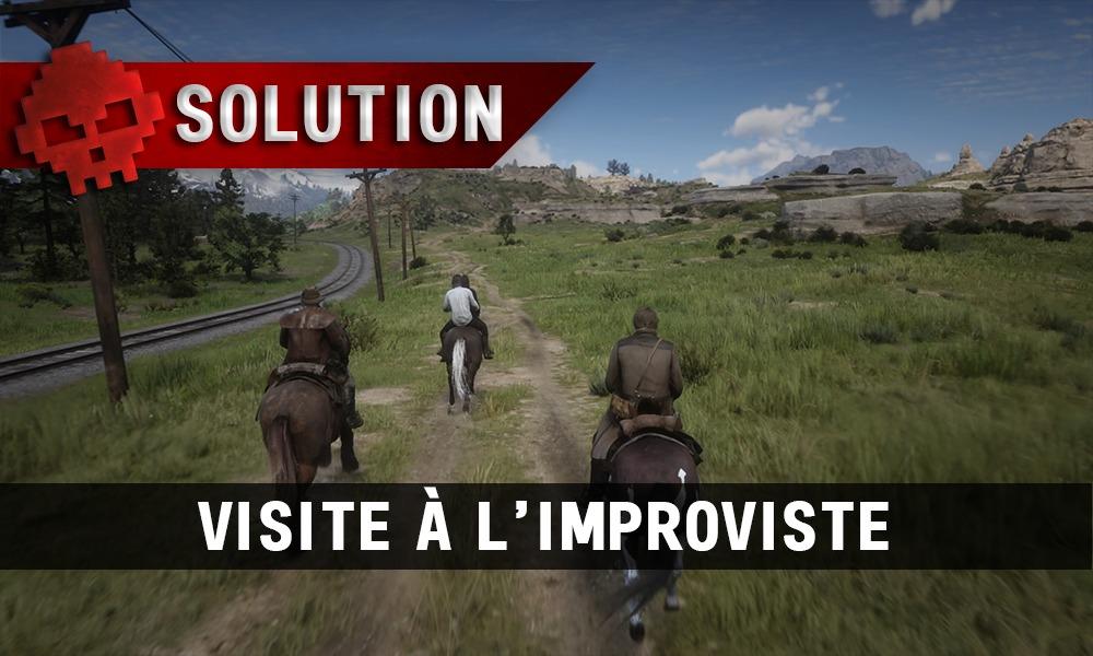 vignette soluce Red Dead redemption 2 visite à l'improviste