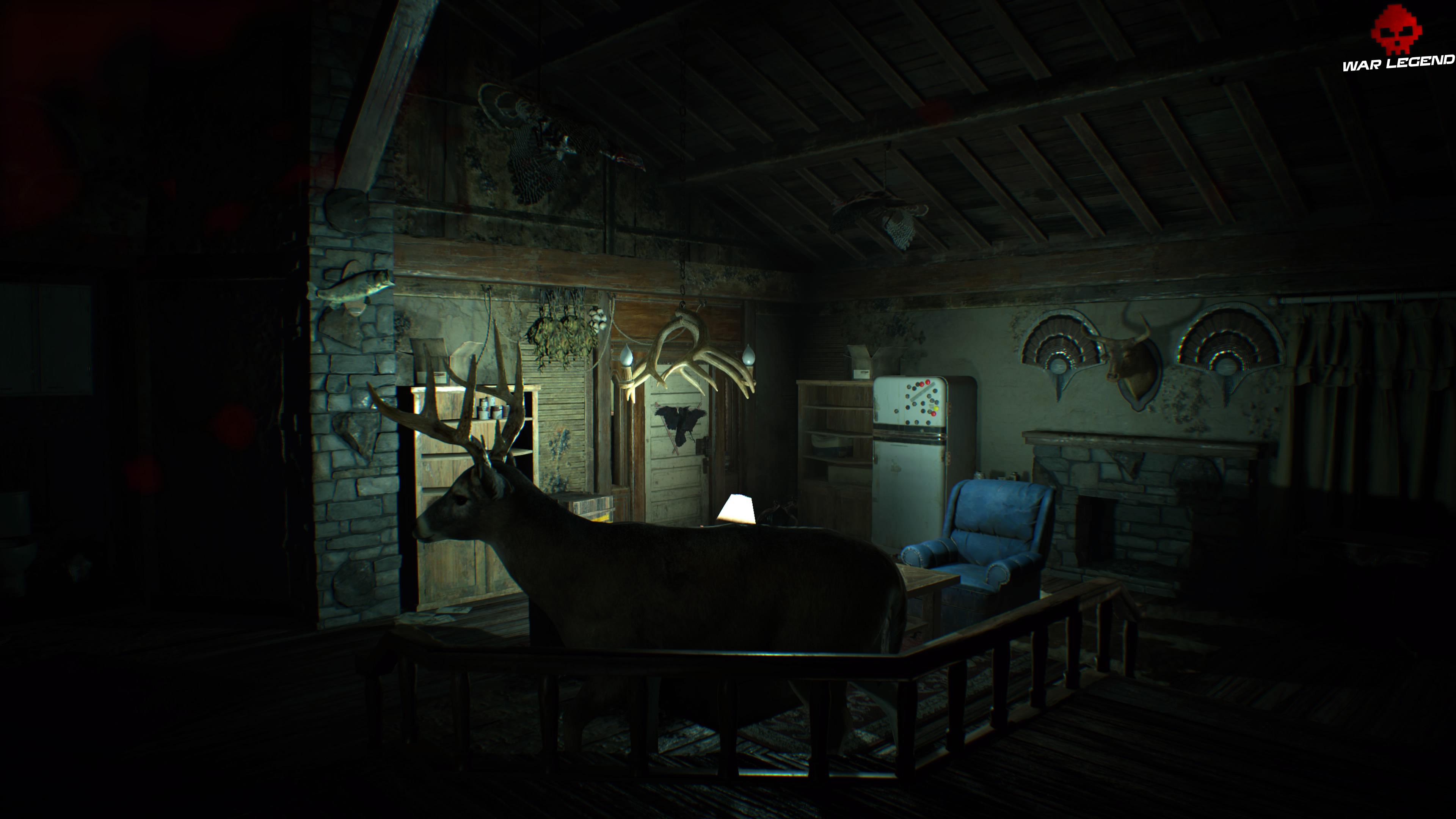Solution Resident Evil 7 Biohazard - Chapitre 3 salle de chasse
