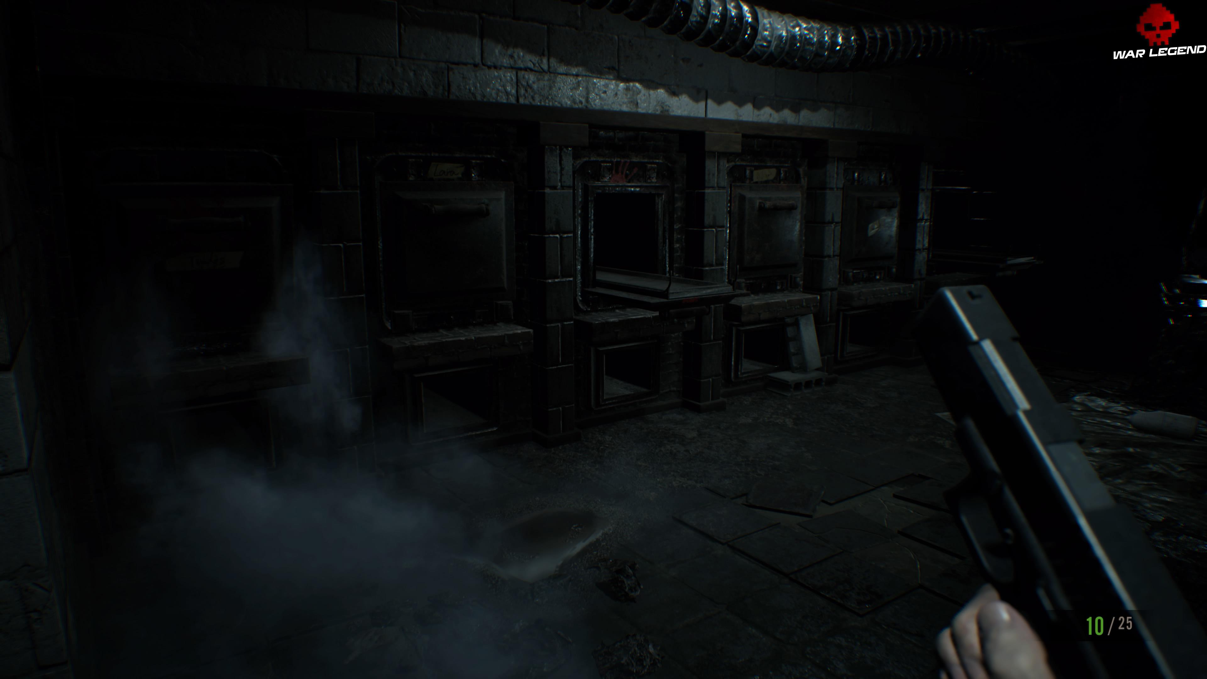 Solution Resident Evil 7 Biohazard - Chapitre 3 incinérateurs