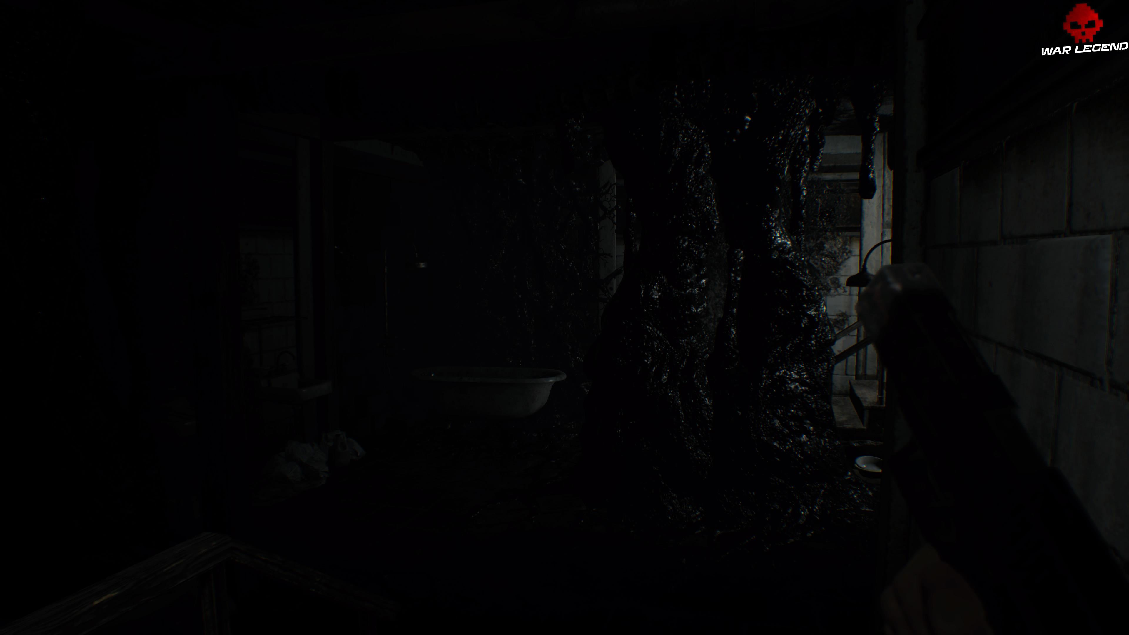 Solution Resident Evil 7 Biohazard - Chapitre 3 salle moisie avec baignoires