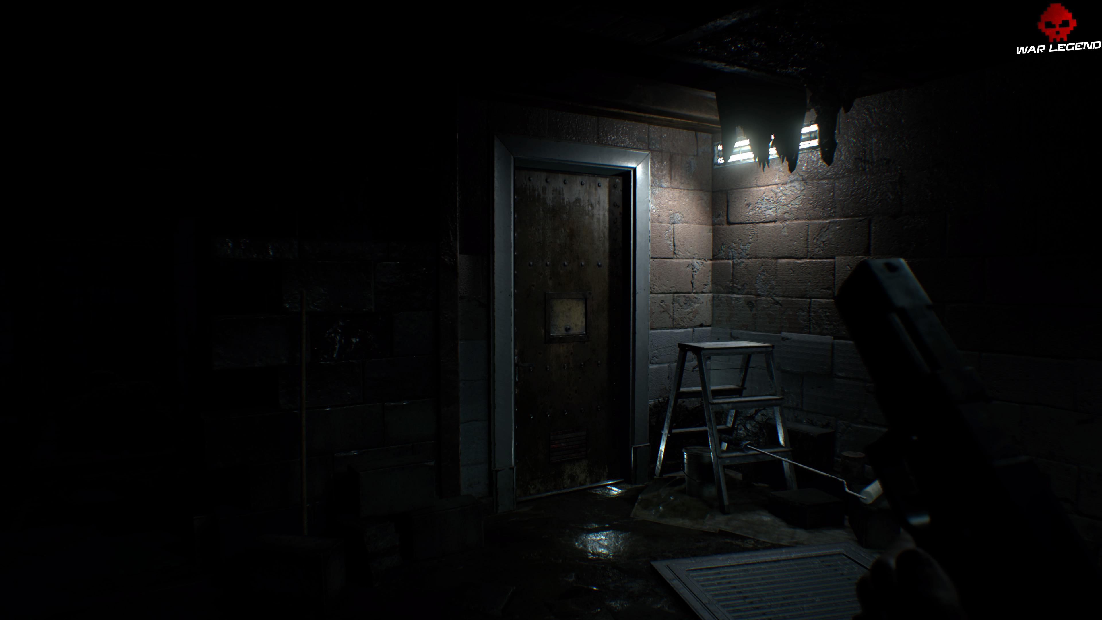 Solution Resident Evil 7 Biohazard - Chapitre 3 porte métallique en sous-sol