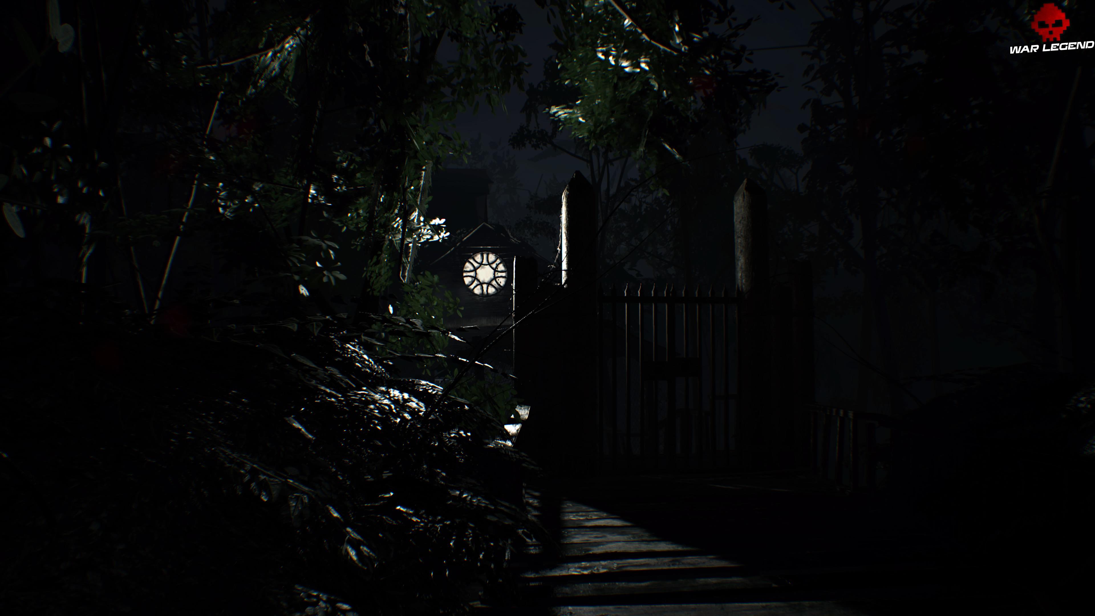 Solution Resident Evil 7 Biohazard - Chapitre 4 fenêtre allumée dans la nuit