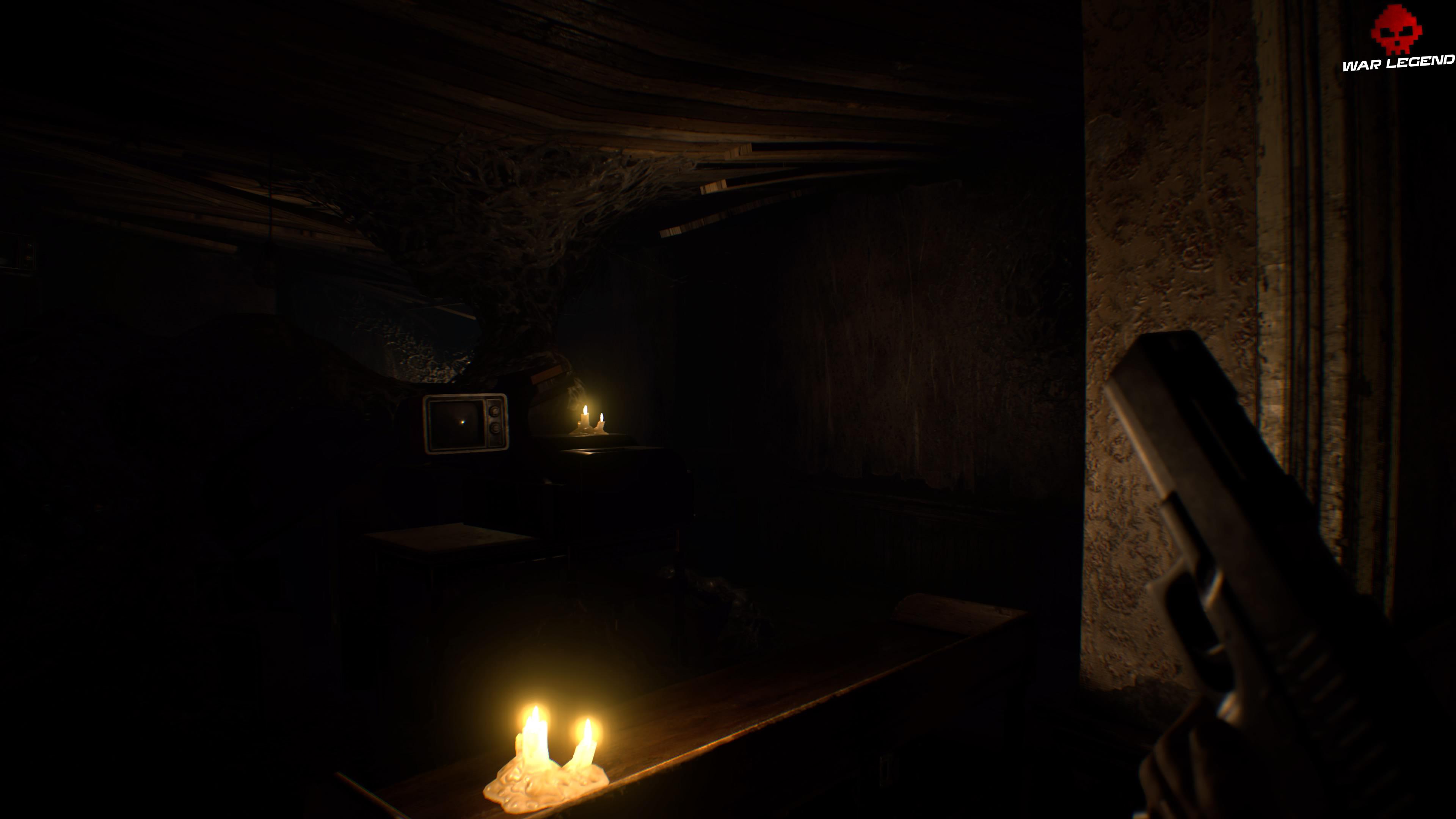 Solution Resident Evil 7 Biohazard - Chapitre 4 pièce dans la pénombre