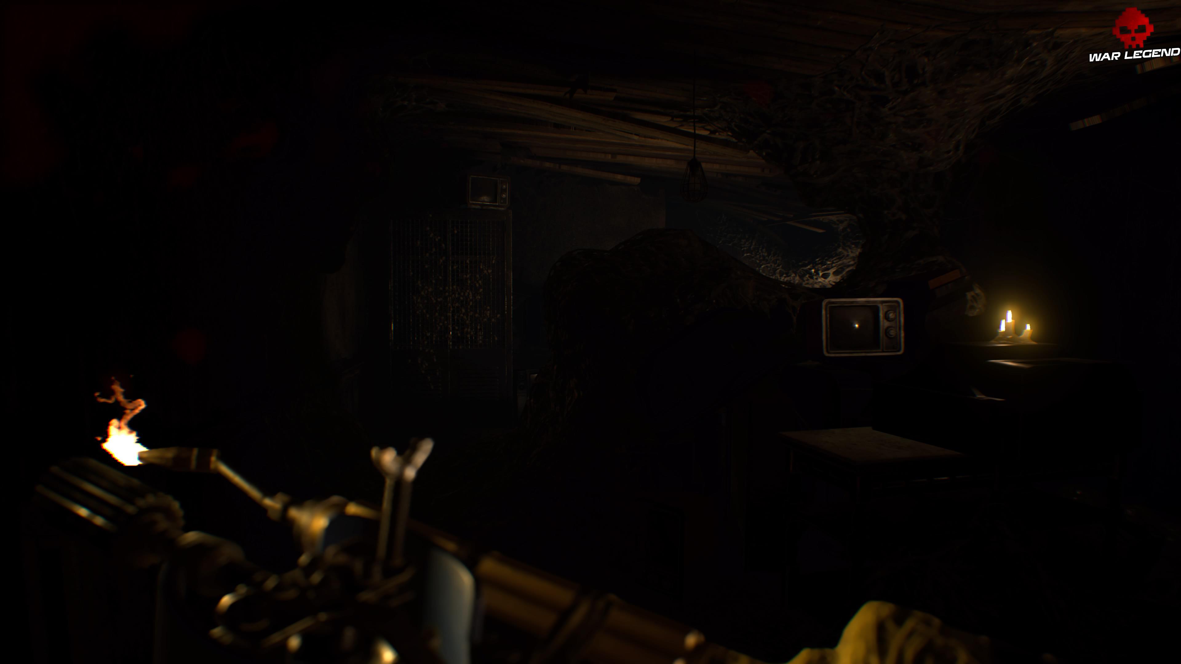 Solution Resident Evil 7 Biohazard - Chapitre 4 télévision, armoire infestée d'araignée
