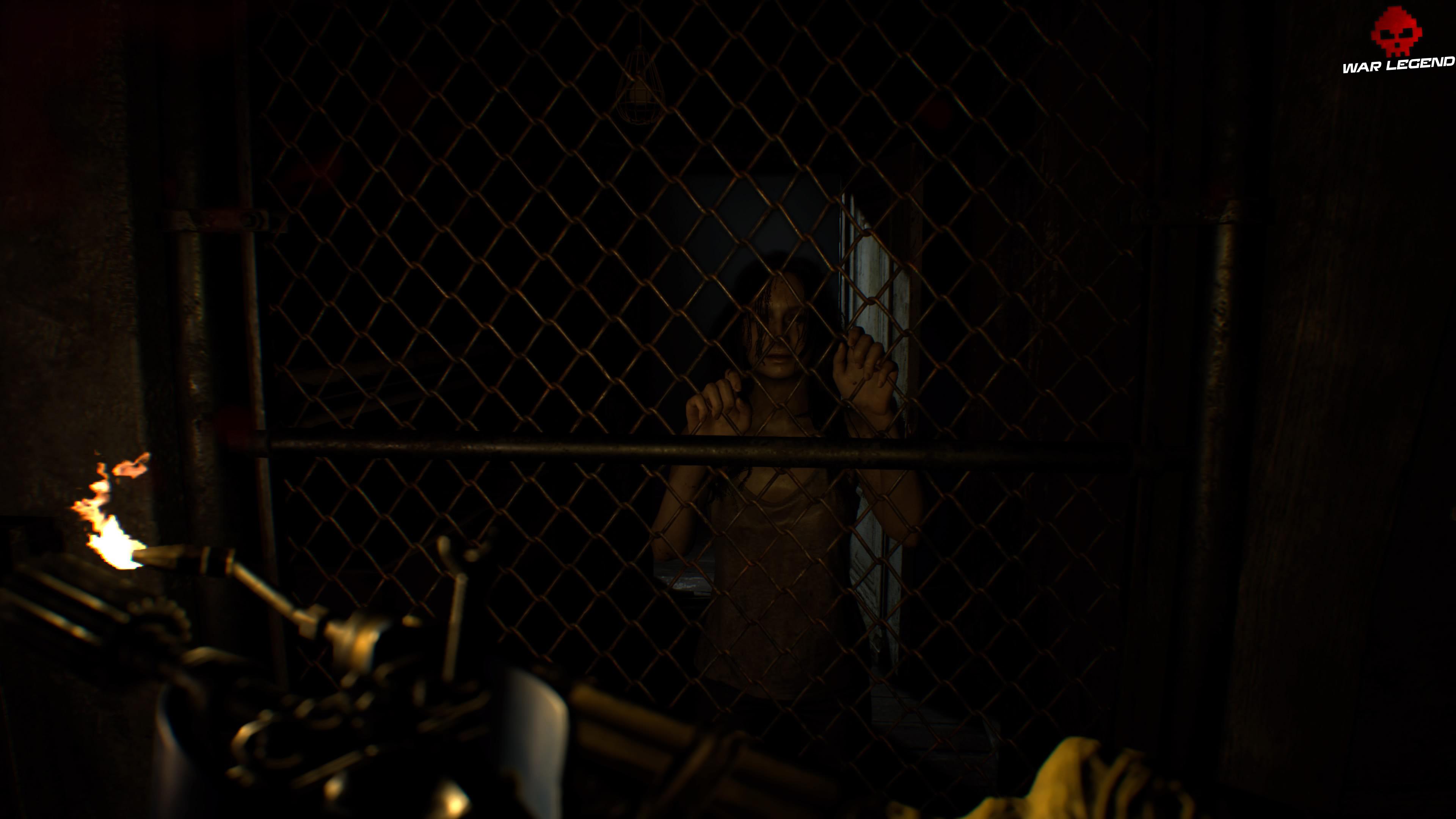Solution Resident Evil 7 Biohazard - Chapitre 4 Mia derrière une grille
