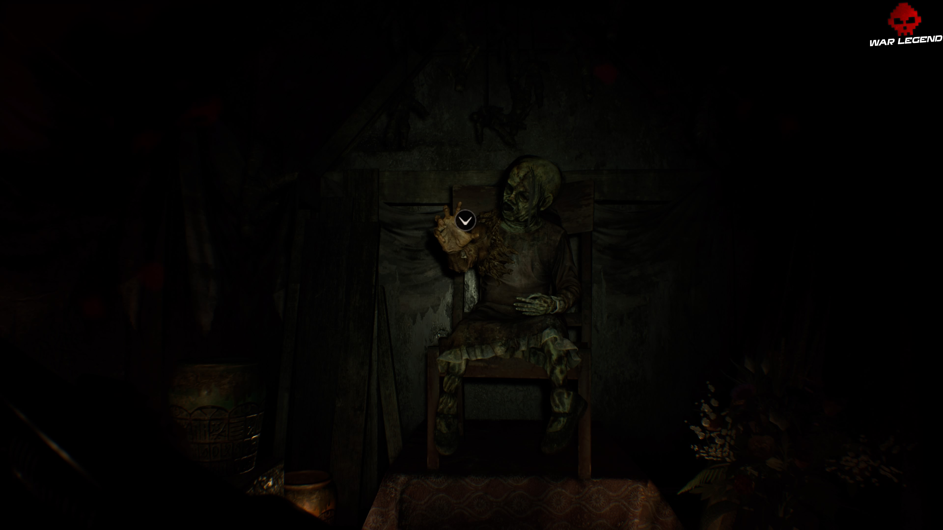 Solution Resident Evil 7 Biohazard - Chapitre 4 cadavre assis