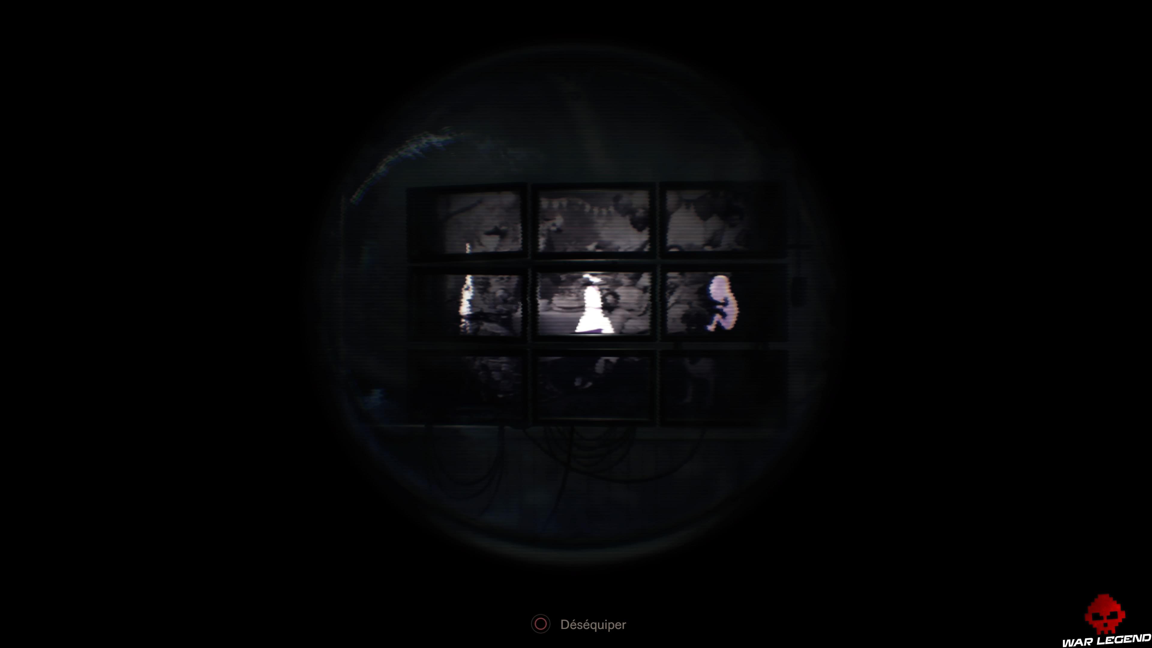 Guide des trophées Resident Evil 7 Biohazard écrans code secret