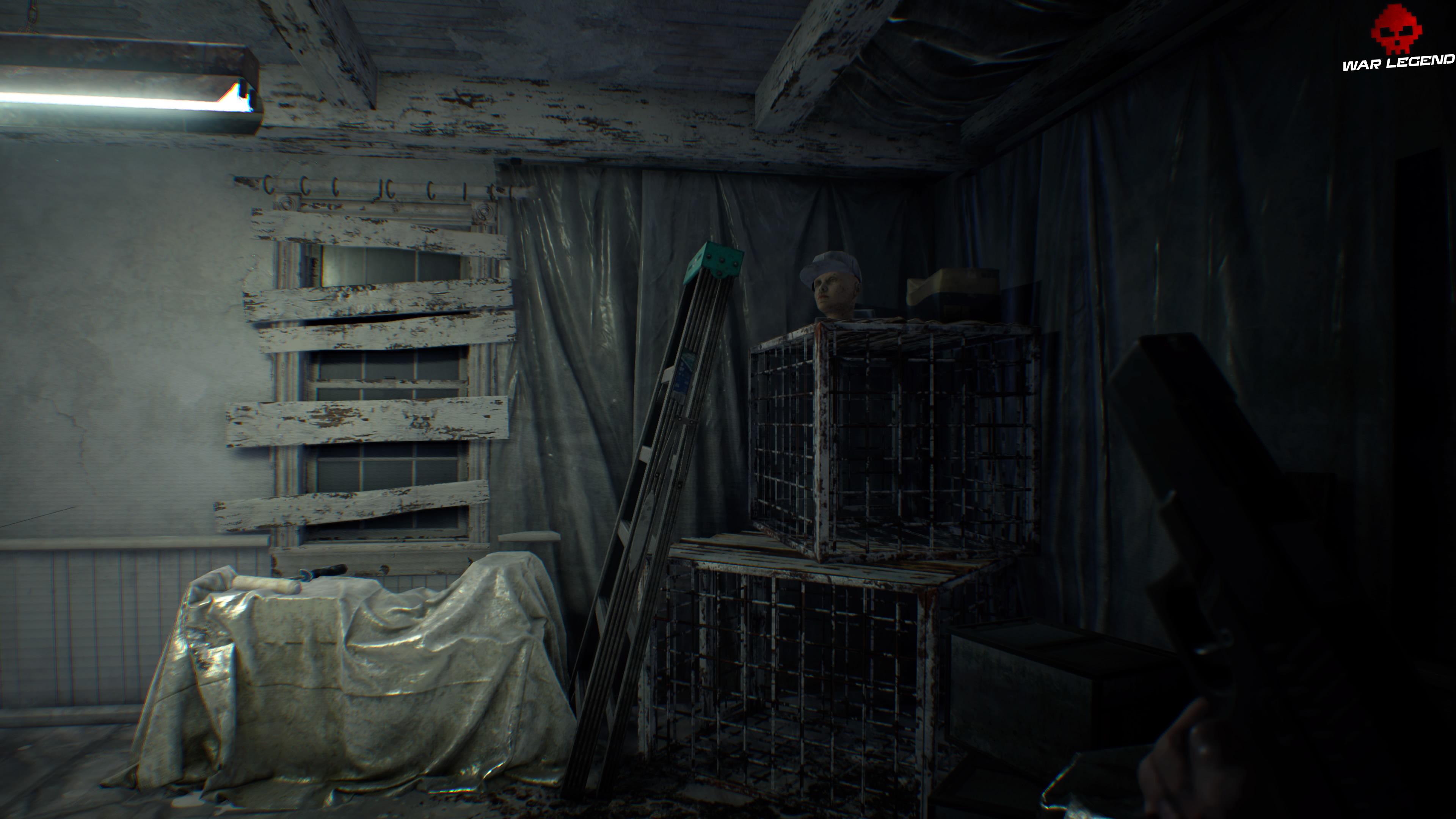 Guide Resident Evil 7 - Réparer le pistolet cassé et le fusil cassé tête de mannequin coiffée sur étagère