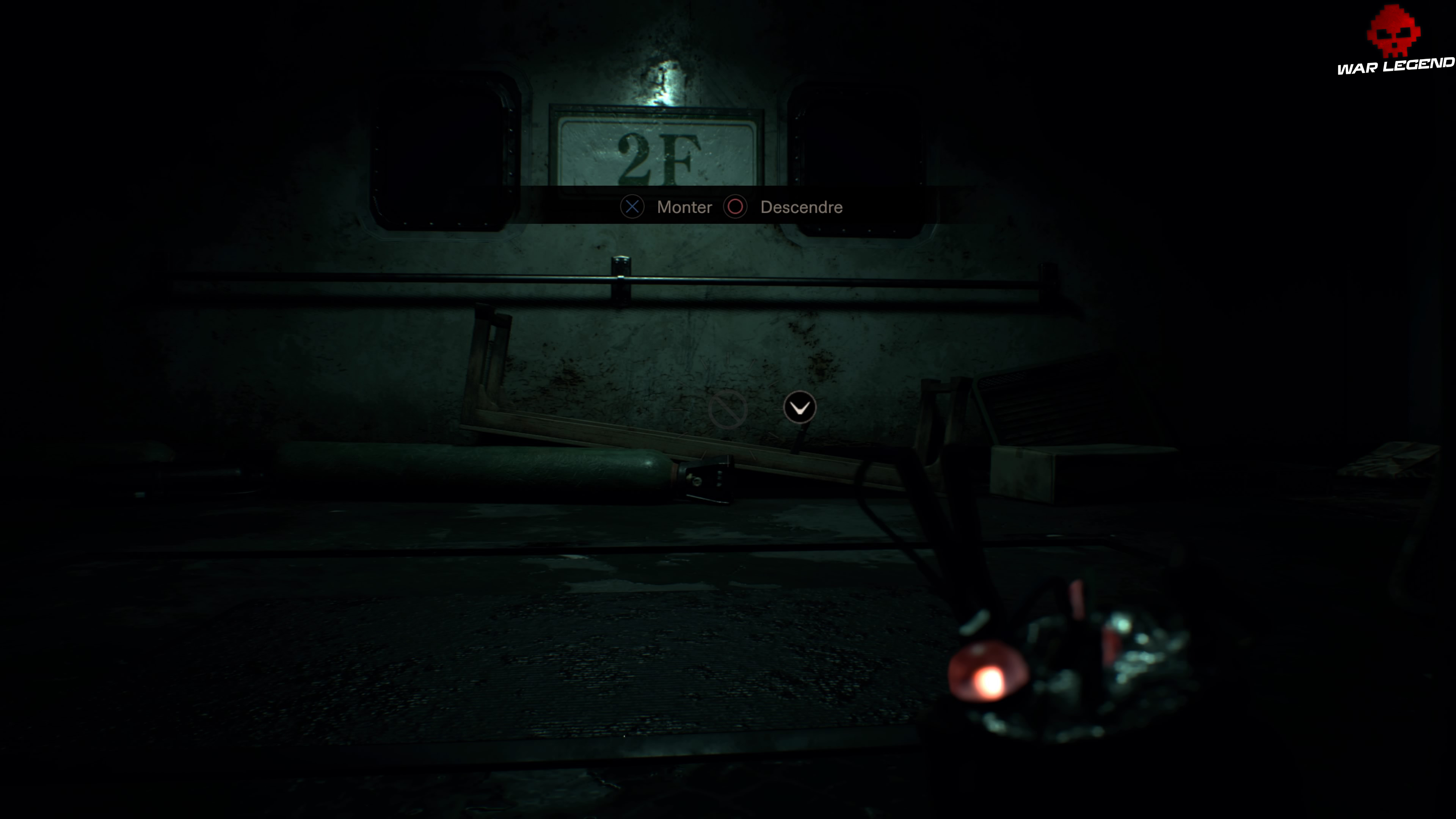 Solution Resident Evil 7 Biohazard Chapitre 7 choix monter ou descendre étage 2F