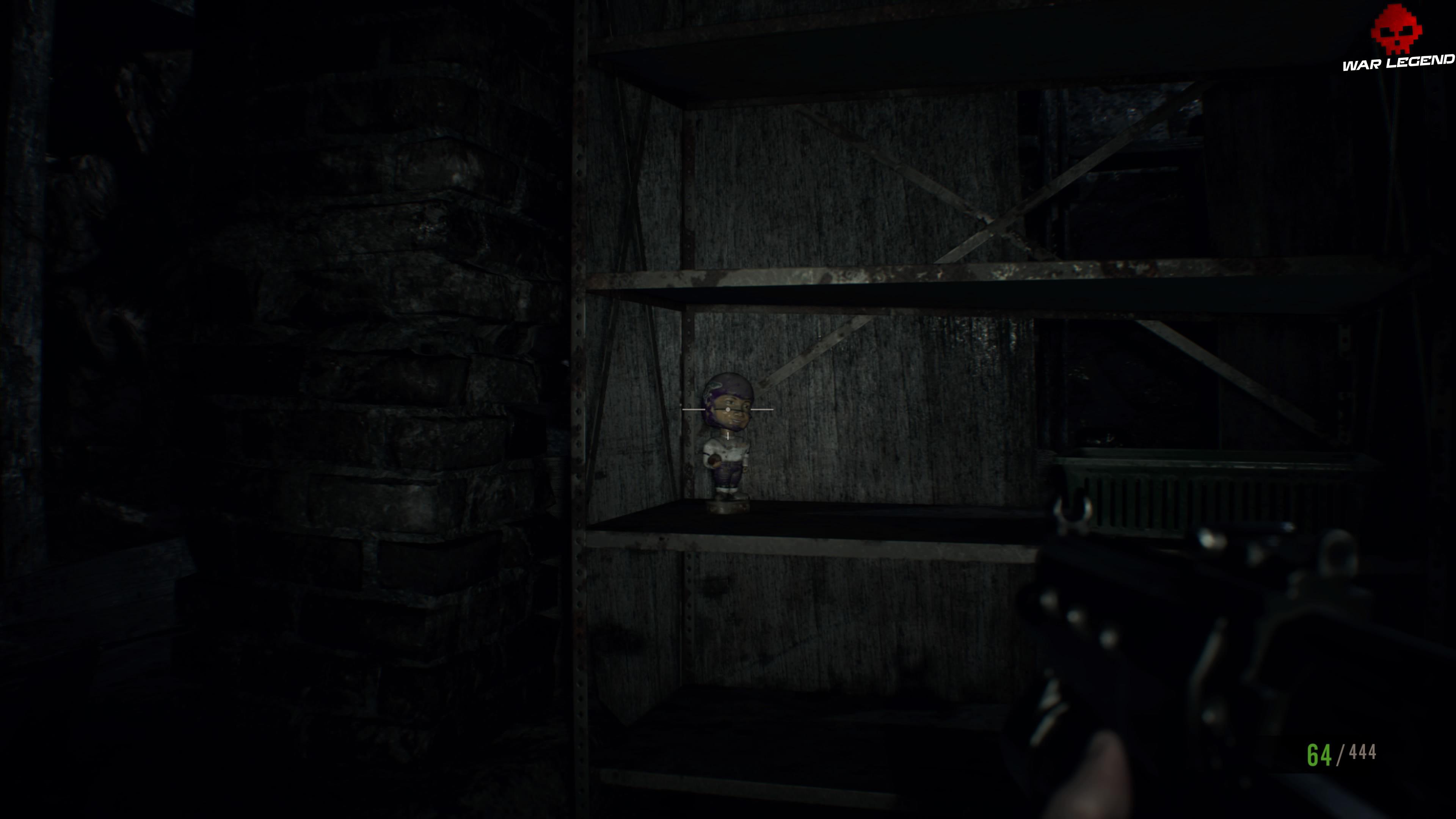 Solution Resident Evil 7 Biohazard - Chapitre 9 étagère Mr. Everywhere