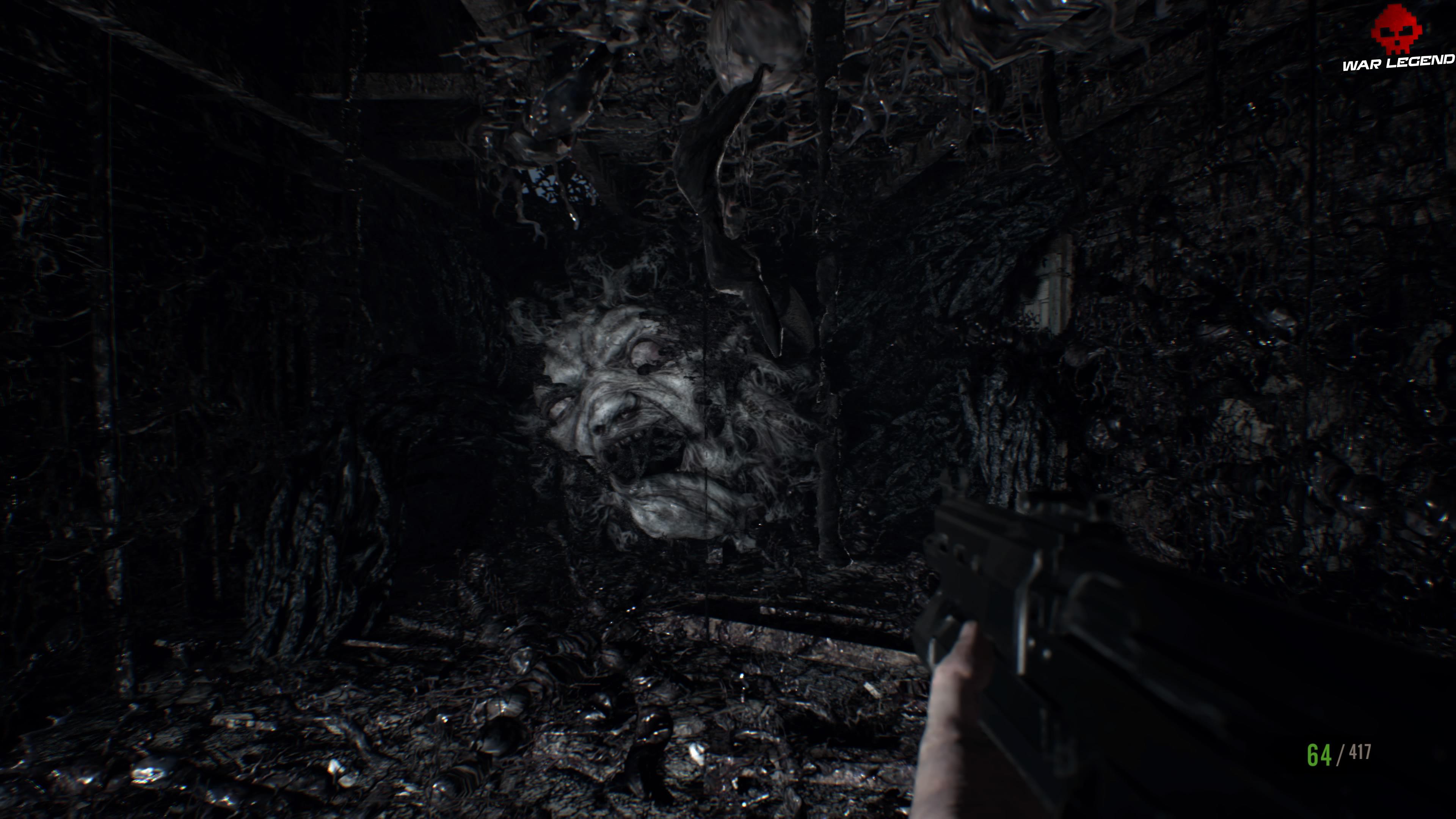 Solution Resident Evil 7 Biohazard - Chapitre 9 visage monstrueux Eveline