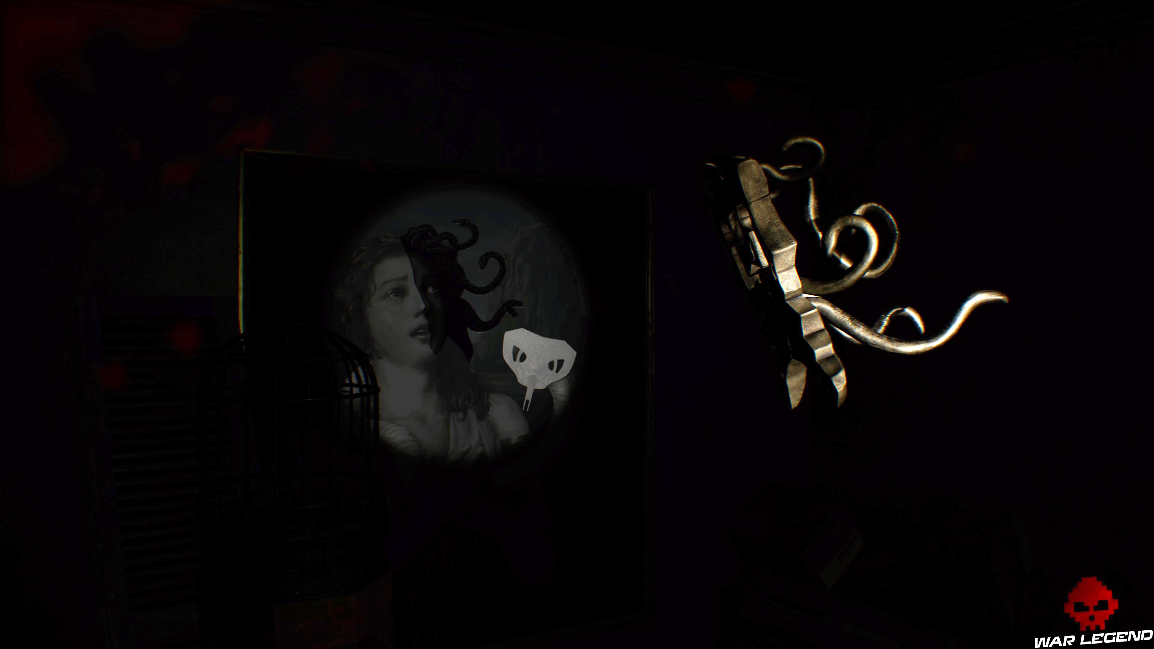 Solution Resident Evil 7 Biohazard - La chambre ombre cheveux méduse