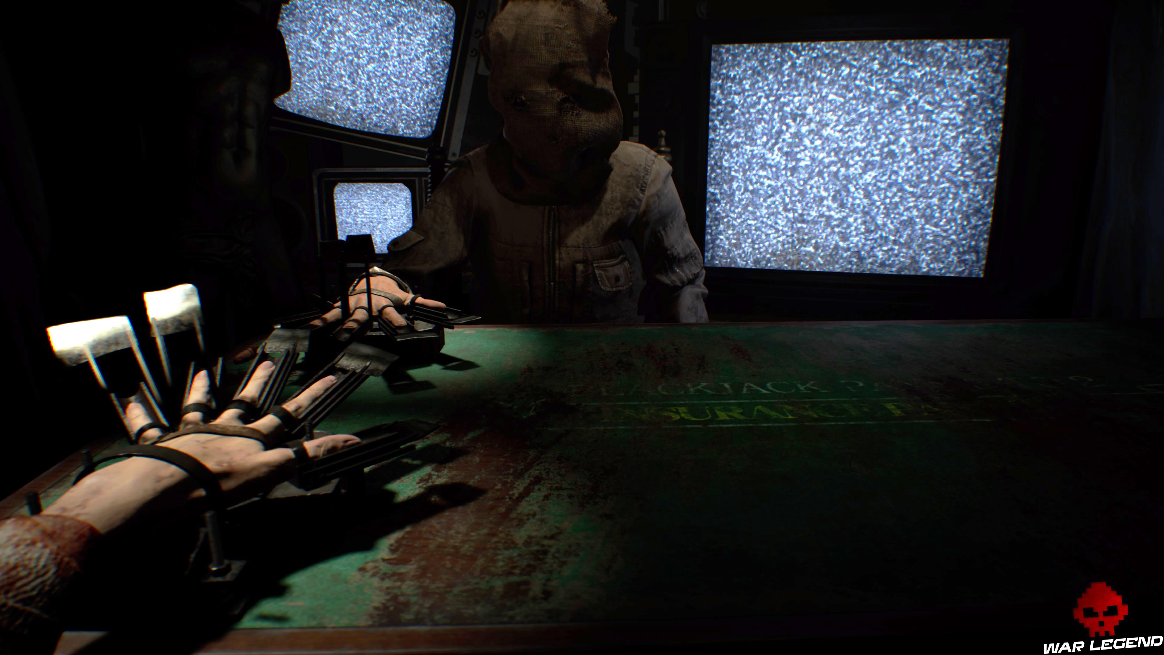 Solution Resident Evil 7 Biohazard - Vingt-et-un main deux doigts menacés