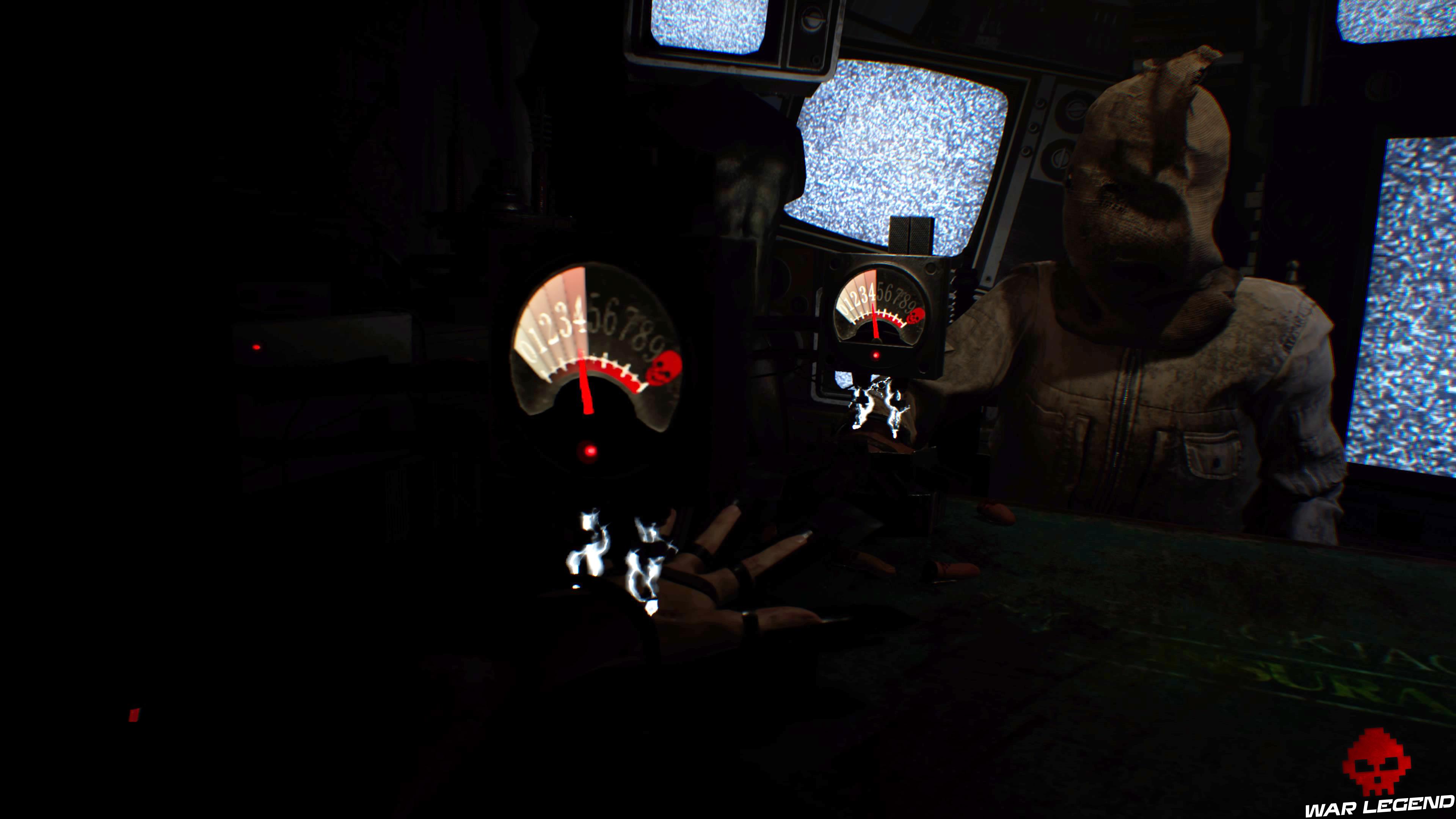 Solution Resident Evil 7 Biohazard - Vingt-et-un compteur électrique menaçant