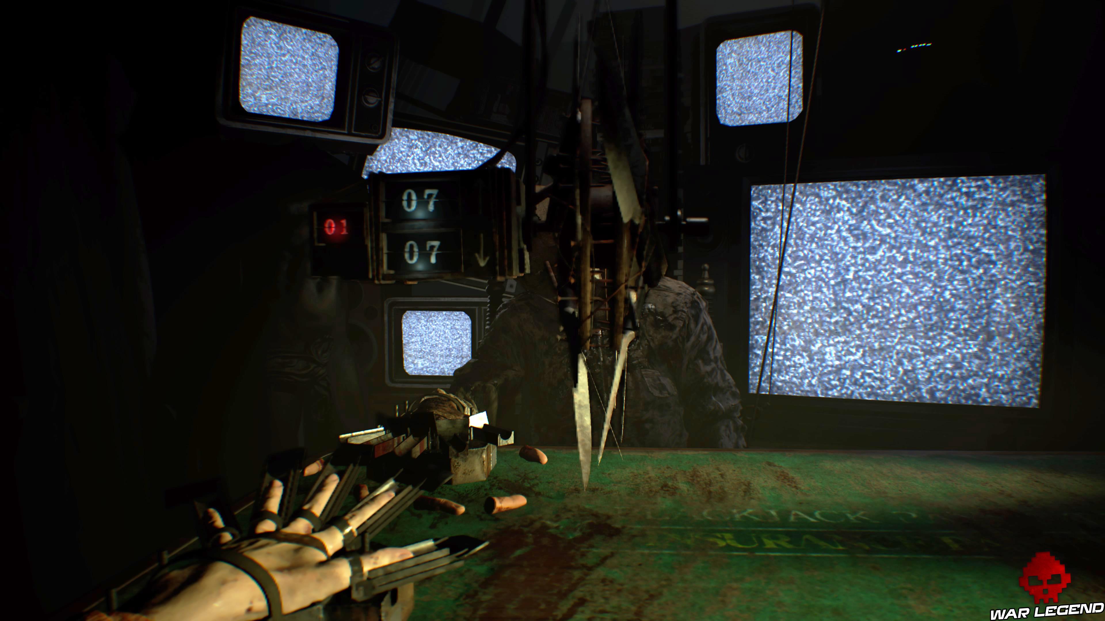 Solution Resident Evil 7 Biohazard - Vingt-et-un roue de lames
