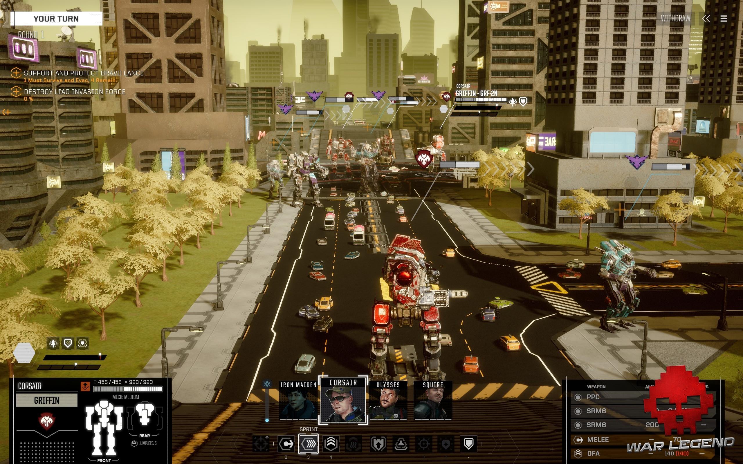 Test BATTLETECH - Combat urbain