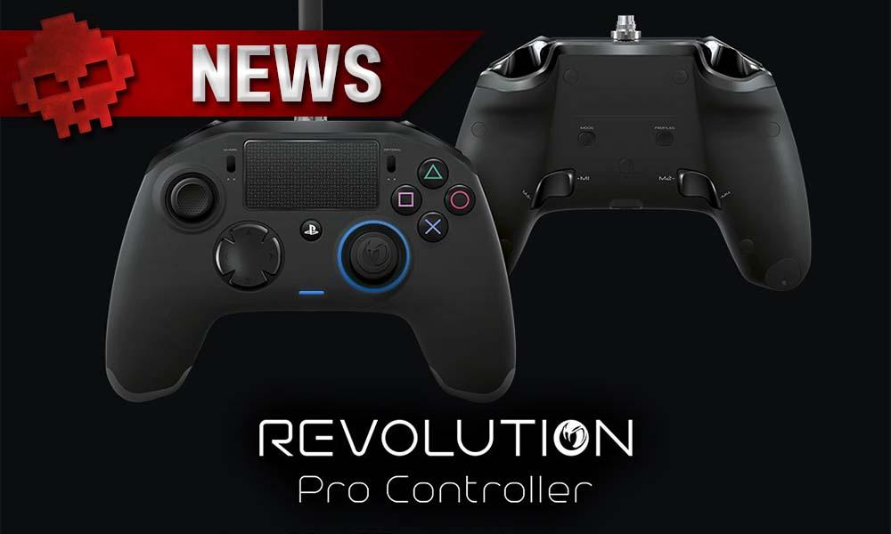 PS4 - Revolution Pro Controller versus Thor - Image de présentation de la nouvelle manette de Nacon