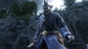 Red Dead Redemption 2 screenshot morgan déguisé en soldat