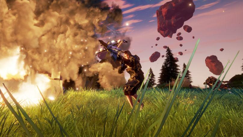 Rend - Des anciens de Blizzard annoncent leur nouveau titre en grande pompes personnage avec une arbalète et des explosions