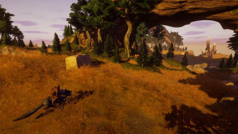 Rend - Des anciens de Blizzard annoncent leur nouveau titre en grande pompes Personnage se baladant sur une monture dans les prairies