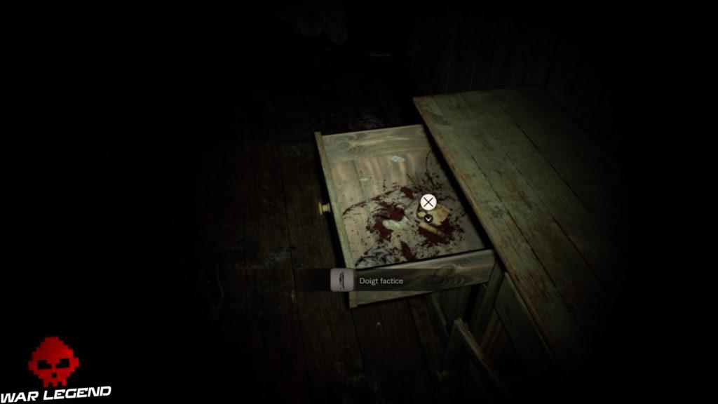 Guide Resident Evil 7 - Débloquer du contenu exclusif pour le jeu final doigt factice