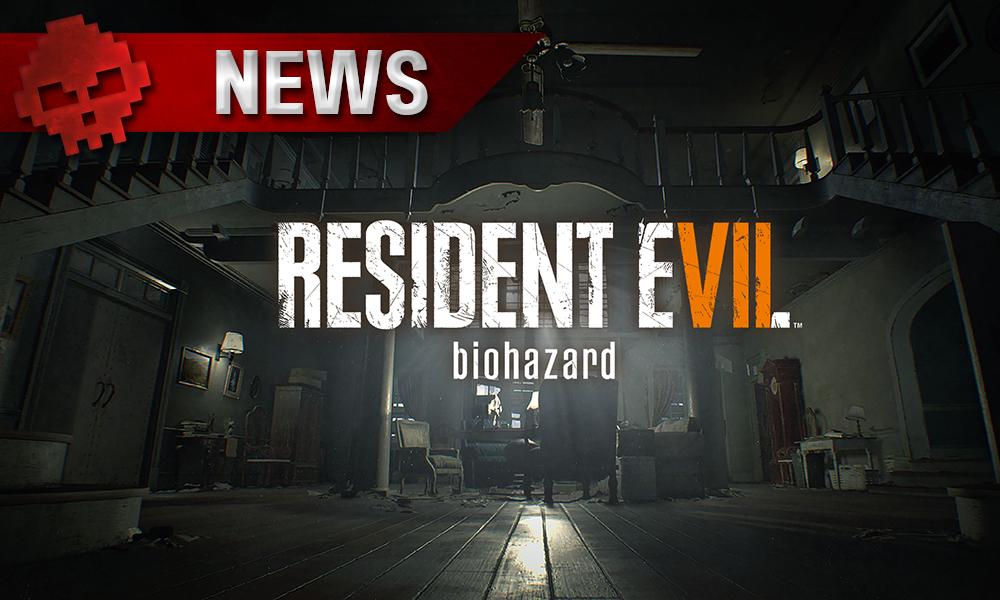 Resident Evil 7 - Le second DLC a sa date de sortie intérieur du manoir et logo du jeu