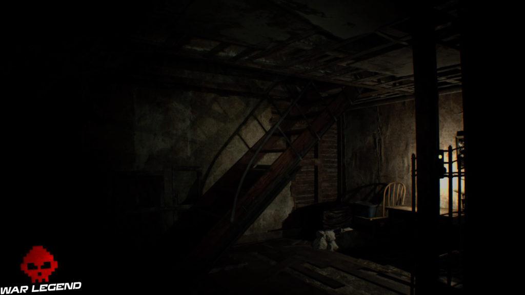 Guide Resident Evil 7 - Débloquer du contenu exclusif pour le jeu final escaliers grenier