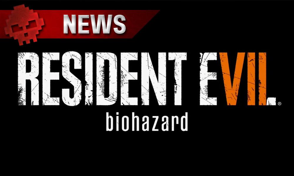 Resident Evil 7 - Capcom vend plus de 2,5 millions de copies Logo