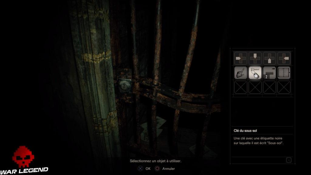Guide Resident Evil 7 - Débloquer du contenu exclusif pour le jeu final porte rouillée