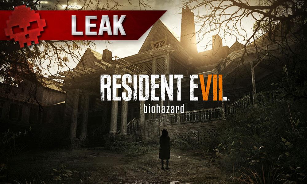 Resident Evil 7 - Le jeu peut-être terminé en 10 heures Manoir lugubre