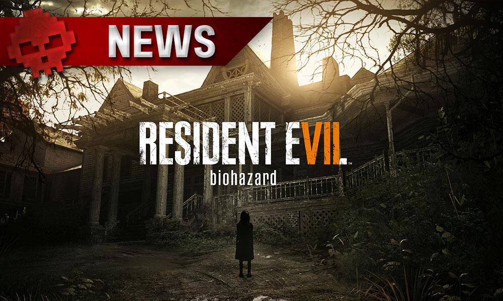 Resident Evil 7 - Les stats mondiales révèlent des chiffres effrayants Manoir lugubre