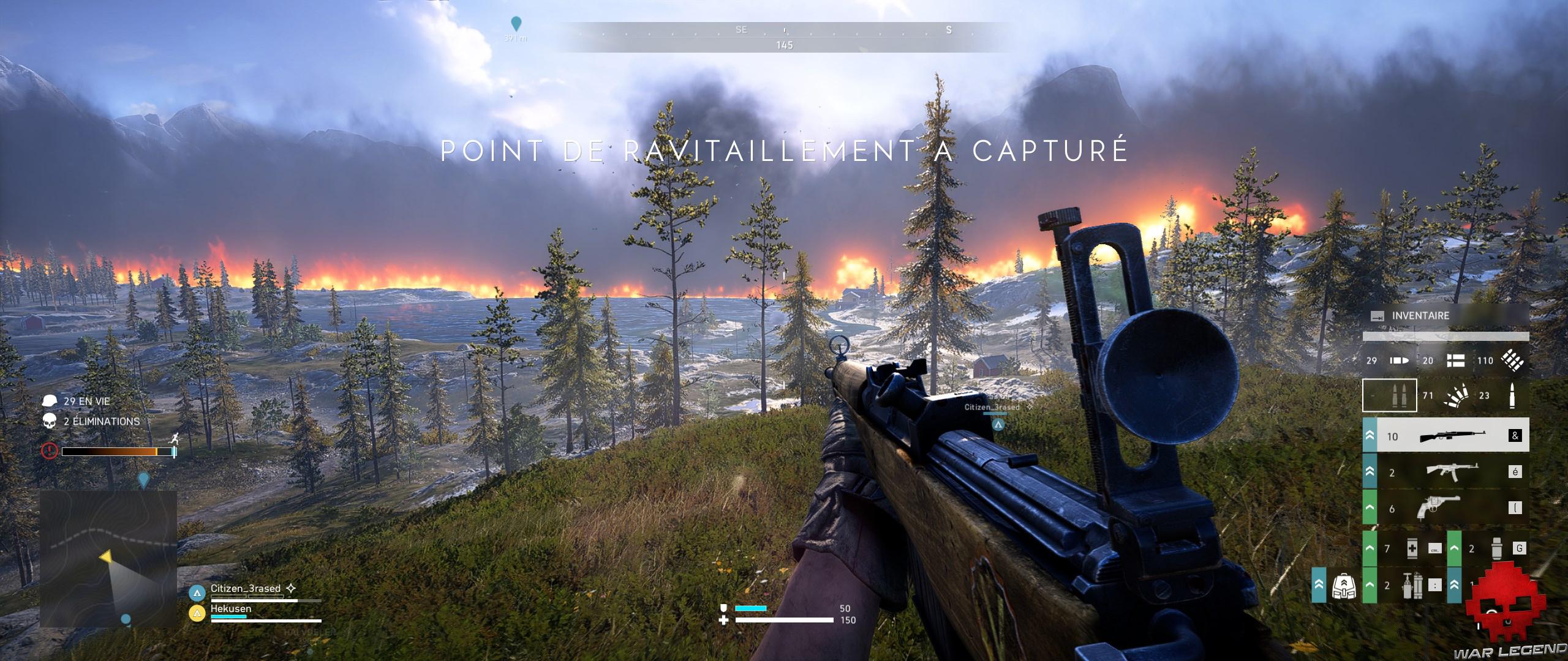 Retest battlefield V tempête de feu