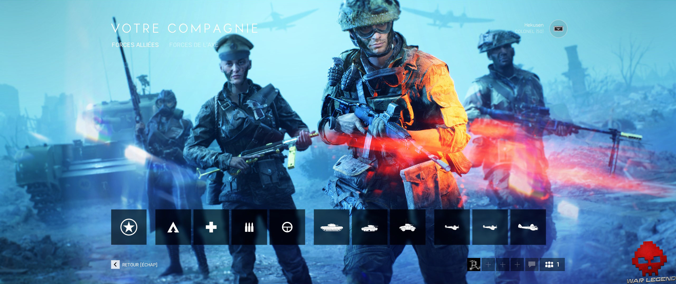 Retest battlefield V compagnie