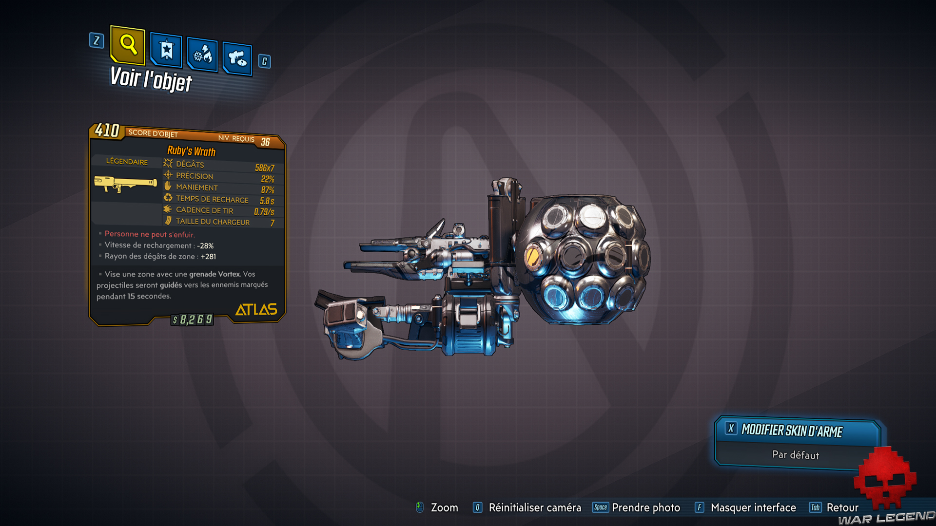 guide borderlands 3 légendaire