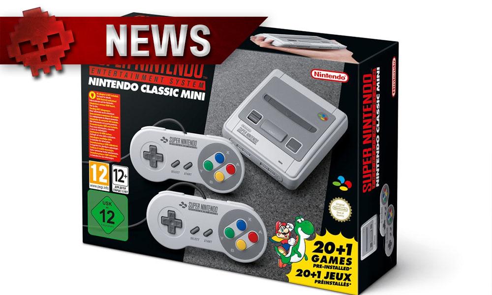 Super Nintendo Classic Mini - La version japonaise intègre des jeux différents