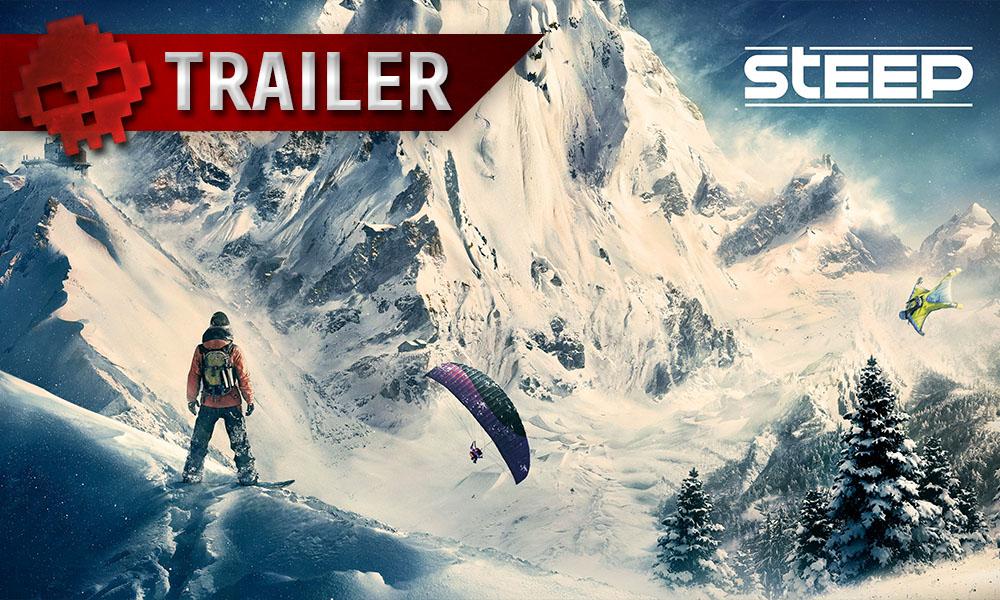 Steep - Un trailer de lancement vertigineux Montagne parapente