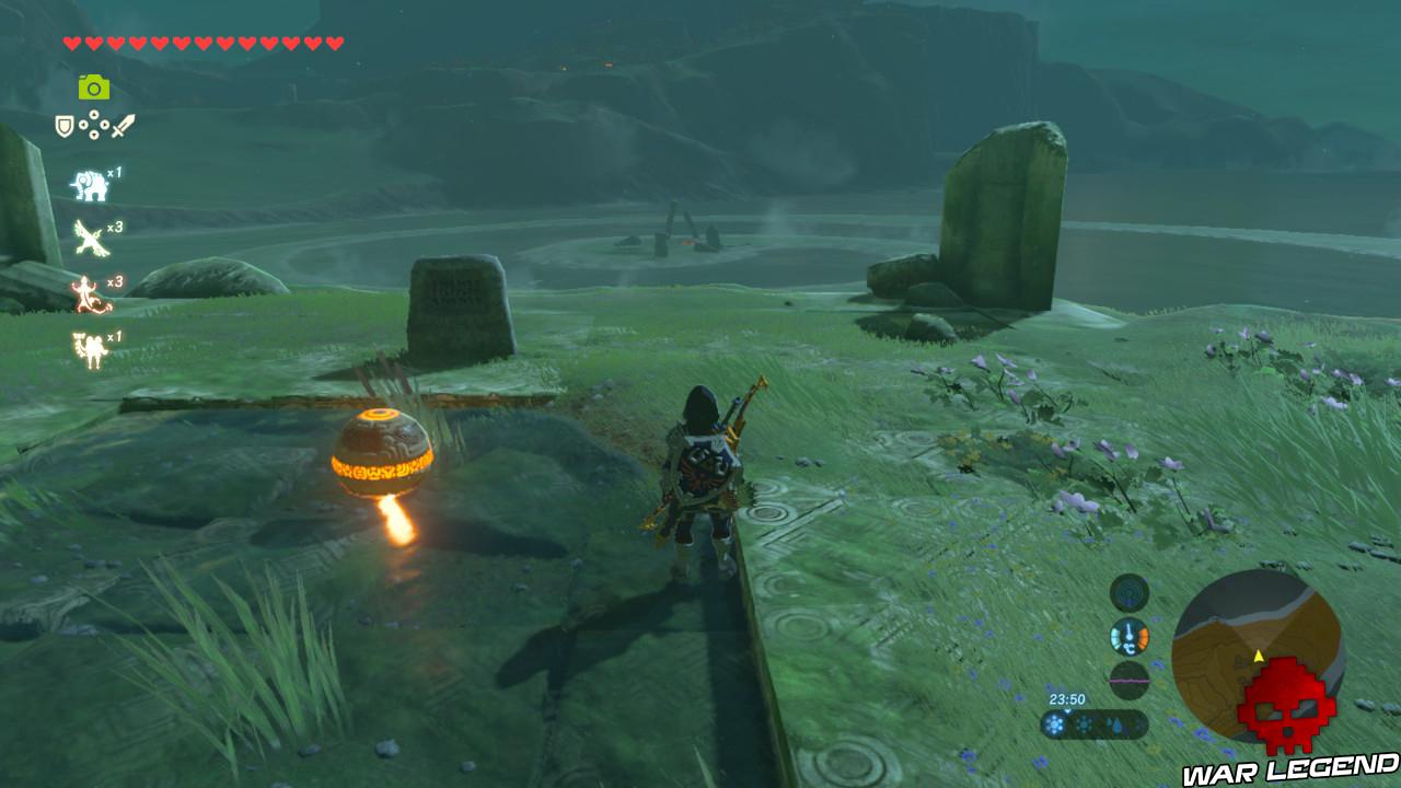 Soluce The Legend of Zelda: Breath of the Wild - Sanctuaires d'Akkala