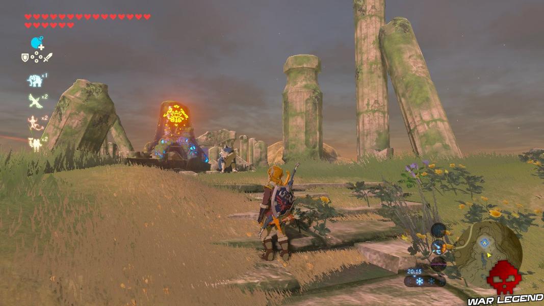 Soluce The Legend of Zelda: Breath of the Wild – Sanctuaires de Tabanta