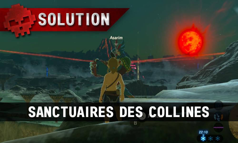 Soluce complète de Zelda Breath of the Wild Sanctuaires des Collines