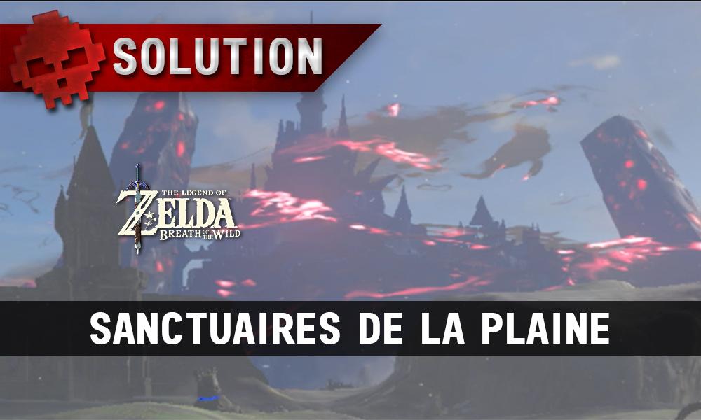 Soluce complète de Zelda Breath of the Wild plaine